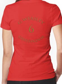 Ginny Weasley Chaser  Women's Fitted V-Neck T-Shirt