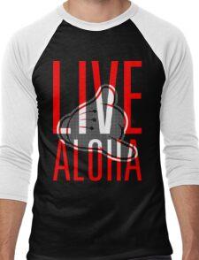 Live Aloha Shaka Alternate Men's Baseball ¾ T-Shirt