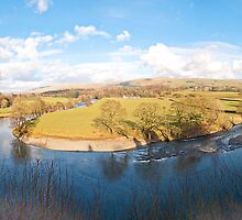 Ruskins View (Panorama) by Sue Knowles