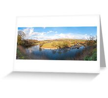 Ruskins View (Panorama) Greeting Card