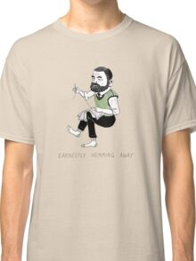 """Earnestly Hemming Away"" Classic T-Shirt"