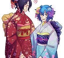 DRAMAtical Lesbians (KouAo) by marburusu