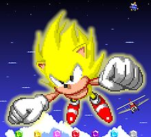 Super Sonic (Sonic 2 Ending) by James Hall