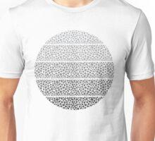 Riverside Monochrome Pebbles Unisex T-Shirt