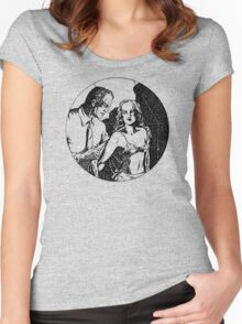 Can I Take Your Coat? Women's Fitted Scoop T-Shirt