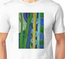 Pattern out of Grass and Stems and More Unisex T-Shirt
