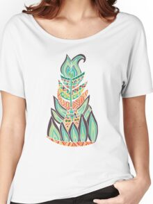 Tribal Feather Women's Relaxed Fit T-Shirt