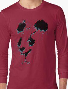 Painted Panda (3D) Long Sleeve T-Shirt