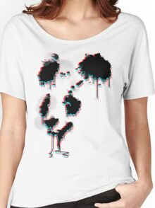 Painted Panda (3D) Women's Relaxed Fit T-Shirt