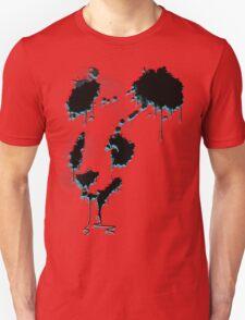 Painted Panda (3D) Unisex T-Shirt