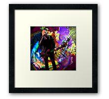 Lindsey Buckingham 2 Framed Print