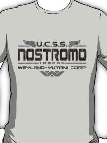 Nostromo Crew Alien T Shirt T-Shirt