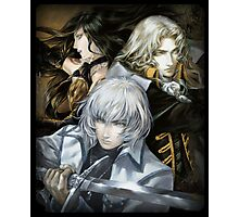 Castlevania - Alucard, Soma and Shanoa Photographic Print