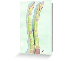 Asparagus lovers Greeting Card