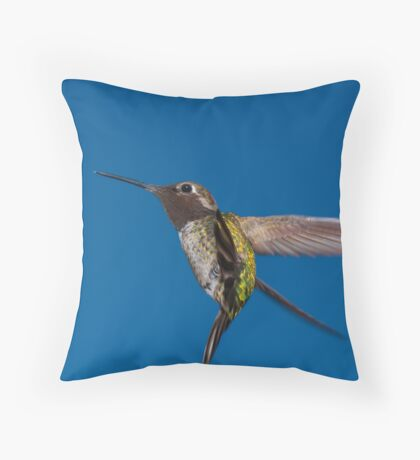Aerial Acrobatics Throw Pillow