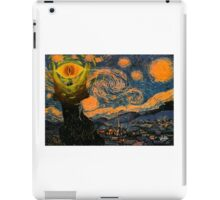 A Starry Night Over Mordor! iPad Case/Skin