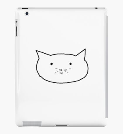 Smiley Cat iPad Case iPad Case/Skin