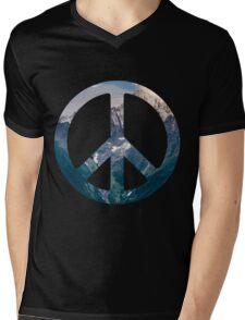 Peace- Mountains Mens V-Neck T-Shirt