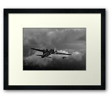 Taking the fight to the enemy Framed Print