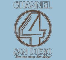 Channel 4 San Diego by 8balltshirts