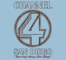 Channel 4 San Diego by 8balltshirts