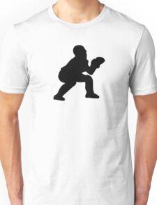 Baseball catcher Unisex T-Shirt