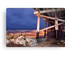 Newport Pier  Canvas Print