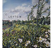 Leyton letters Photographic Print