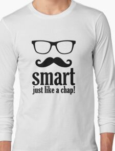 Smart Just Like A Chap Long Sleeve T-Shirt