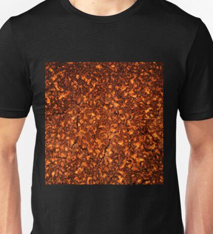 Lava texture Unisex T-Shirt