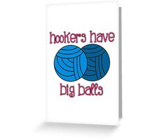 Yarny Balls Greeting Card