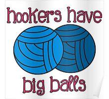 Yarny Balls Poster