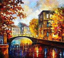 THE RIVER OF MEMORIES by Leonid  Afremov
