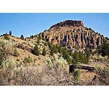 Clarno Rocks Photographic Print