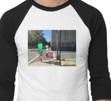 Walk in the city Men's Baseball ¾ T-Shirt