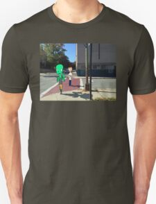 Walk in the city Unisex T-Shirt