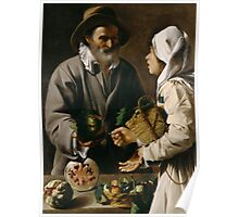The Fruit Vendor Poster