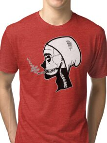 We're all gonna die someday. Tri-blend T-Shirt