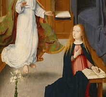 The Annunciation by Bridgeman Art Library