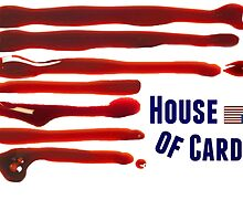 House of Bloody Cards by thehippievegan