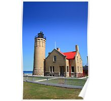 Lighthouse - Mackinac Point, Michigan Poster