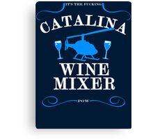 The Catalina Wine Mixer Canvas Print