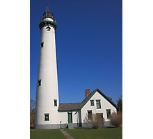 Lighthouse - Presque Isle, Michigan Photographic Print