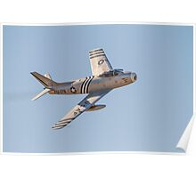 F-86A Sabre  48-178 (G-SABR) Poster