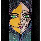 Shes SO Muerte - Art Print by Arek619