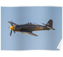 Sea Fury FB.11 VR930 Poster