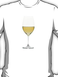 White Wine Glass [T Shirt] T-Shirt
