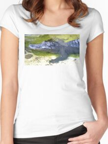 American Alligator Women's Fitted Scoop T-Shirt