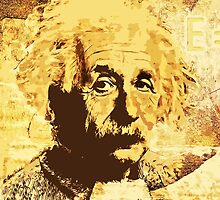 Albert Einstein by harietteh
