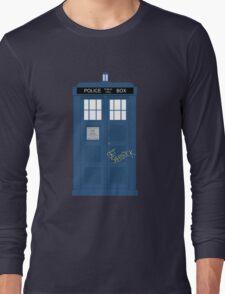 Wholock TARDIS t-shirt Long Sleeve T-Shirt
